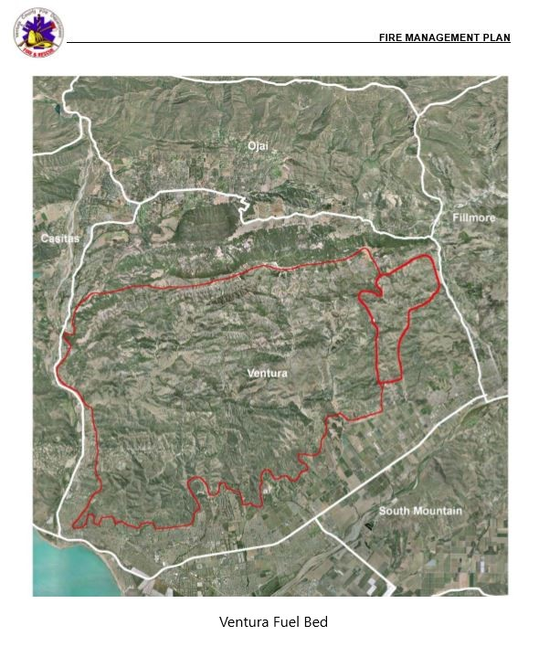 Ventura Ca Fire Map Canada Larga Street Affected County Wildfire Plans Not Implemented Before Thomas Fire – CoLAB VC